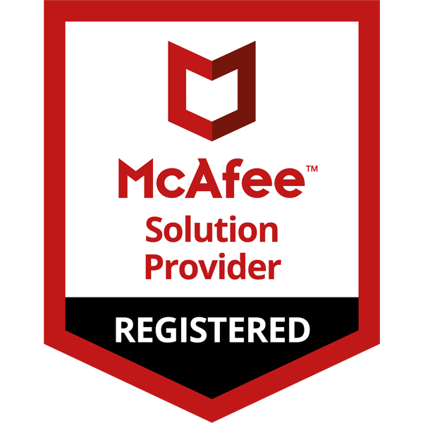 McAfee Solution Provider Registered